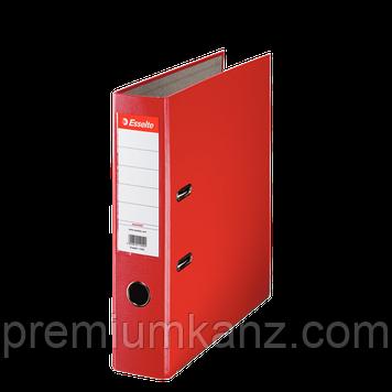 Папка-реєстратор Еко A4, 75 мм, колір червоний ESSELTE