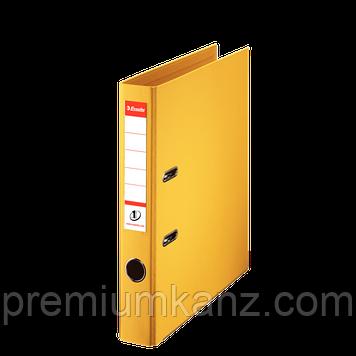 Папка-реєстратор A4 No.1 Power, 50 мм, колір жовтий ESSELTE