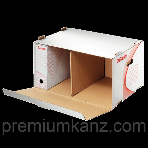 Архівний контейнер, що відкривається спереду, білий ESSELTE