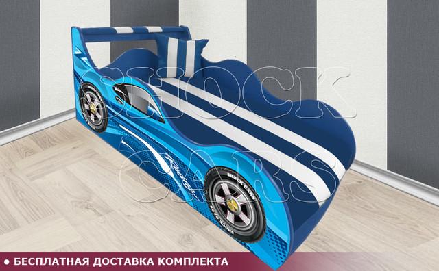Кровать машина РЕЙСИНГ ШОК с матрасом в комплекте купить киев украина