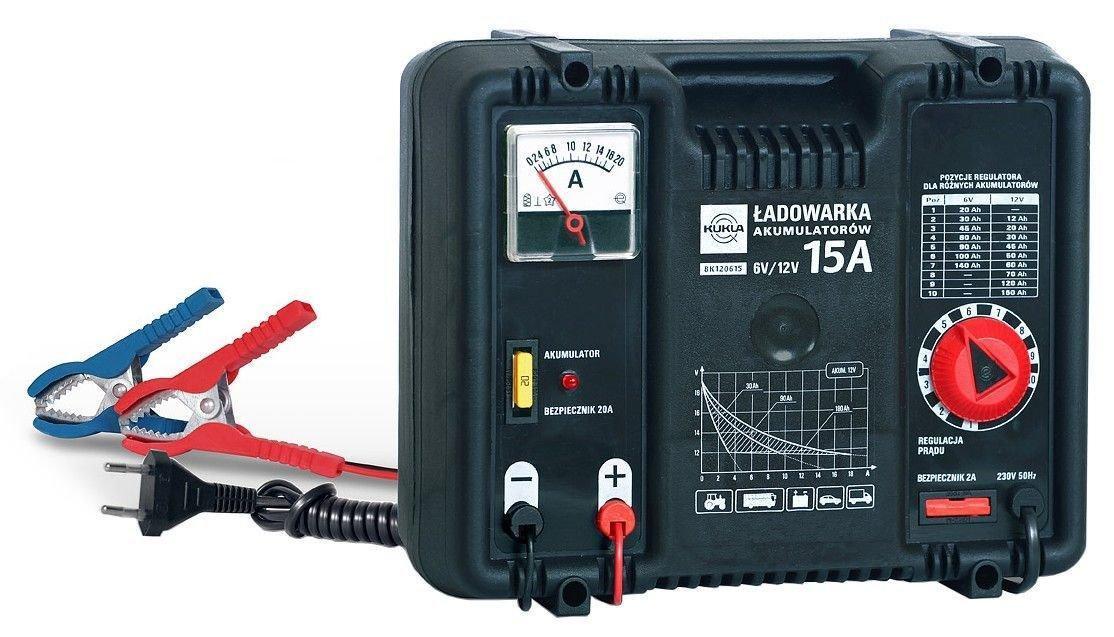 Зарядное устройство с лпавной регулировкой 6V/12V15A