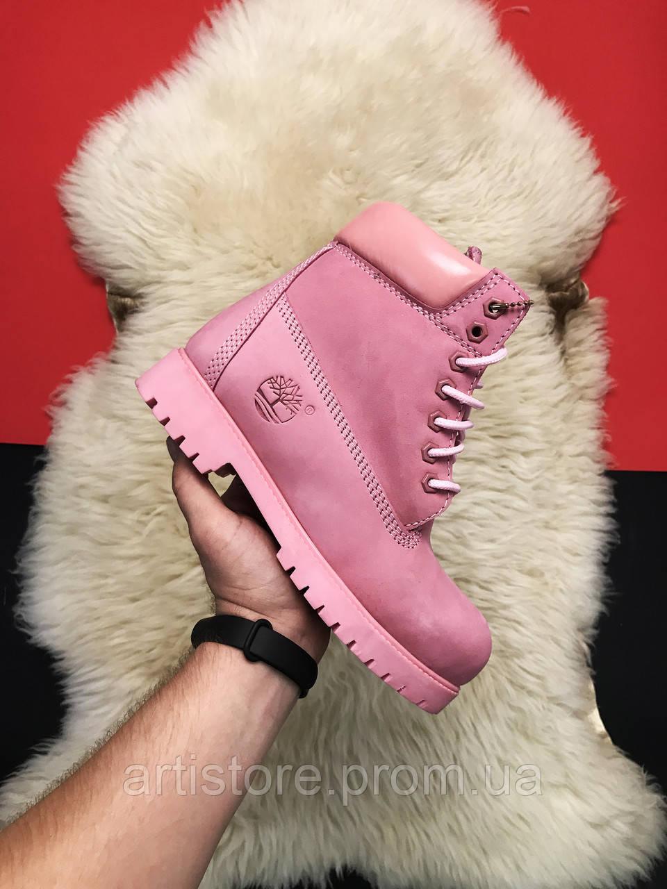 Timberland Pink Fure Premium