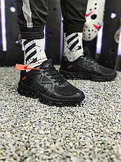 Кроссовки мужские Nike 2019 черные (Top replic), фото 2
