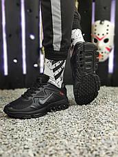Кроссовки мужские Nike 2019 черные (Top replic), фото 3