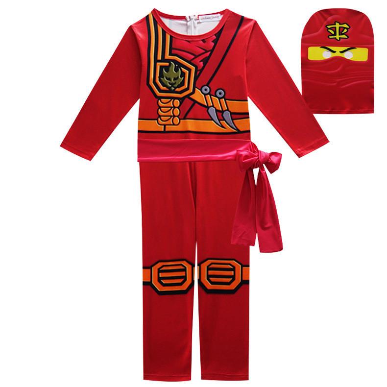 Кай из LEGO Ниндзяго, детский карнавальный костюм (код 45/13)