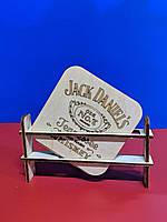 """Подставка под чашку """"Jack Daniels"""", фото 1"""