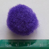 Помпон 25мм (цвет-фиолетовый)
