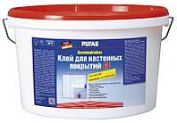 Готовый клей для настенных покрытий, обоев и стеклохолста Pufas GF (Пуфас) (10кг)