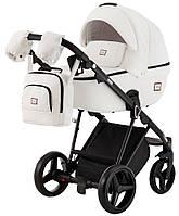 Детская коляска универсальная 2 в 1 Adamex Mimi кожа 100% Q109 (Адамекс, Польша)