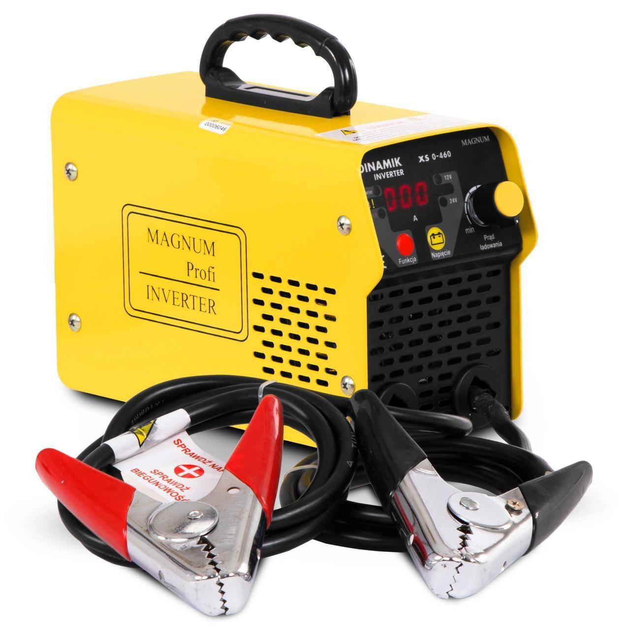 Автомобильное зарядно-пусковое устройство MAGNUM DINAMIK INWERTER XS 0-460 12V 24V