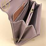 Кошелёк женский из искусственной кожи Tailian ( T5512-007) разные расцветки пудра(слива), фото 5