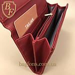 Кошелёк женский из искусственной кожи Tailian ( T5512-007) разные расцветки красный, фото 3