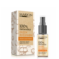 Масло для волос, тела и лица из орехов макадамия Marion 25 мл