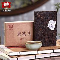 Чай Шу Пуэр Мэнхай Да И Лао Ча Тоу 1601, 2016 года, 280 г, фото 1