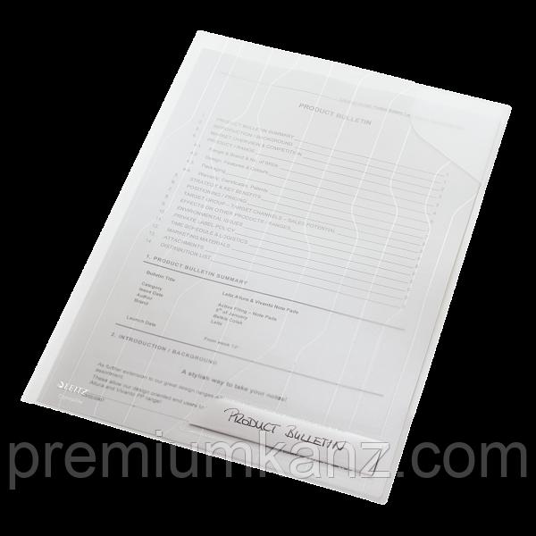 Папка-уголок Leitz Combifile, прозрачный, упак. 5 шт. ESSELTE