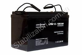 LogicPower LPM 12 - 100 AH  - 12В - 100 А/ч  - AGM аккумулятор для котла