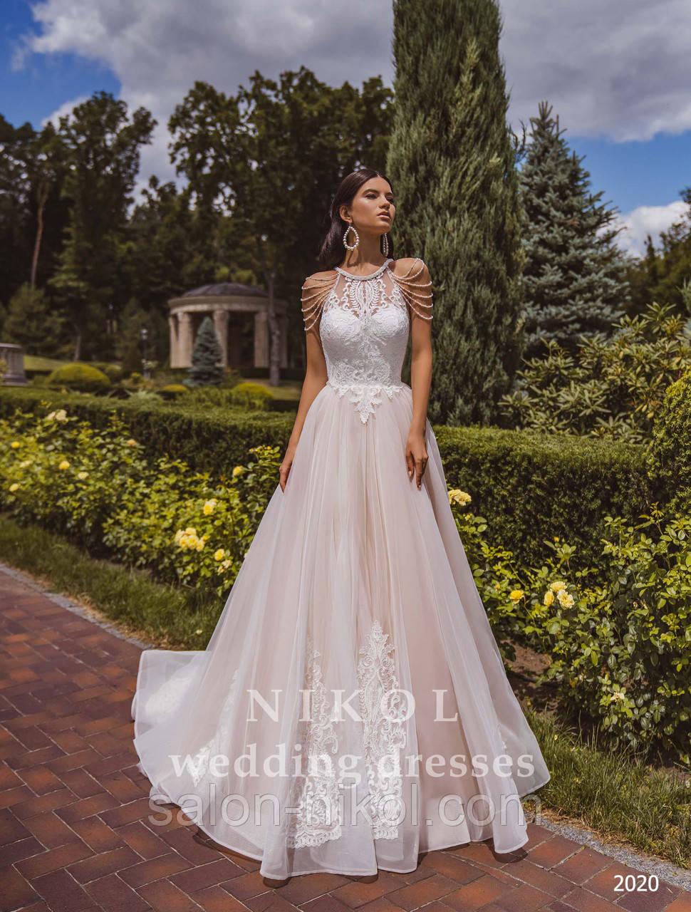 Свадебное платье № 2020