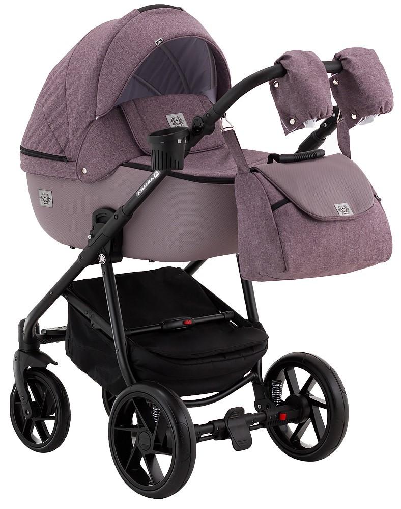 Детская универсальная коляска 2 в 1 Adamex Hybryd BR224