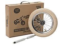 Дополнительное колесо для балансирующего велосипеда (велобега), цвет светло бежевый, Trybike, фото 1