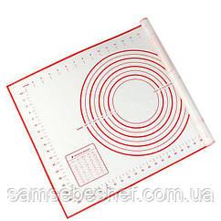 Професійний силіконовий килимок для розкочування тіста GA Династія 21014