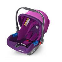 Детское автокресло-переноска Бебикокон для новорожденного Фиолетовый 0+ (ME 1009-2)