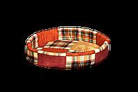 Лежак (лежанка) для кошек и собак №1 Мур-Мяу Коричневый
