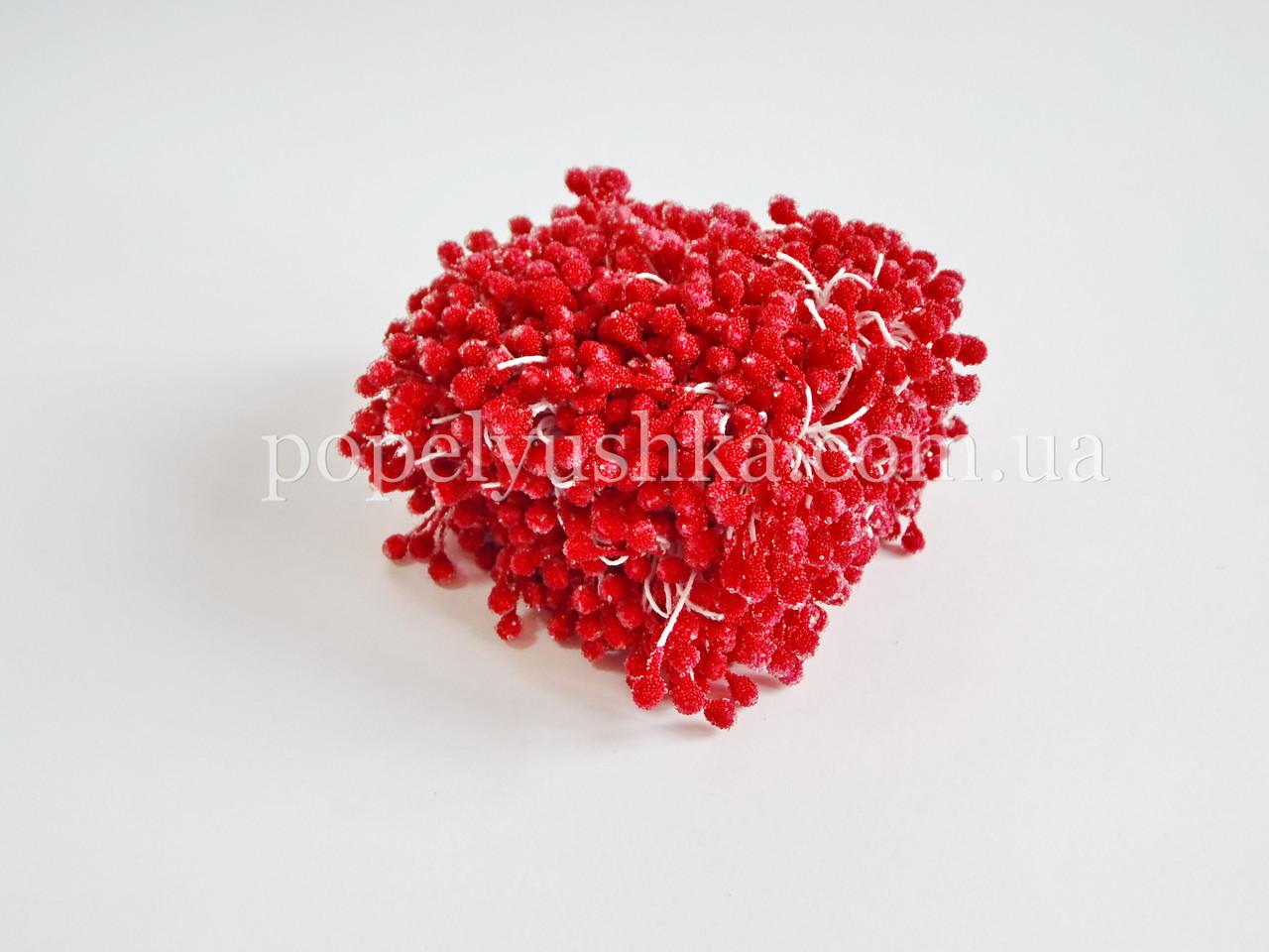 Тичинки цукрові великі червоні