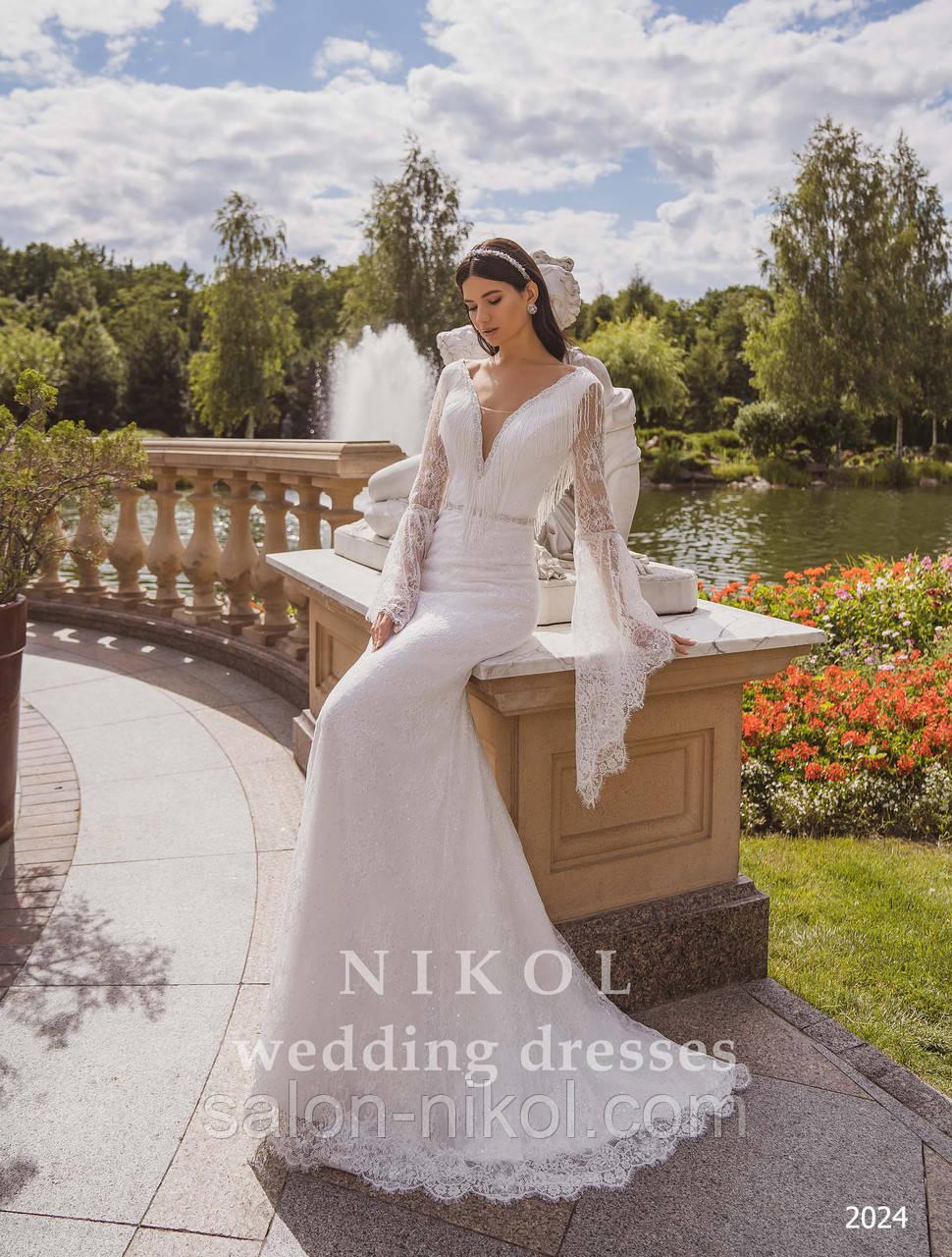 Свадебное платье № 2024