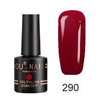 Гель-лак Ou Nail №290, 8 ml
