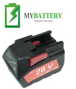 Аккумулятор для шуруповерта Milwaukee 48-11-2830 2000 mAh 28 V черный