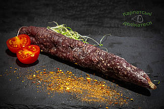 Ковбаса з  дикого кабана