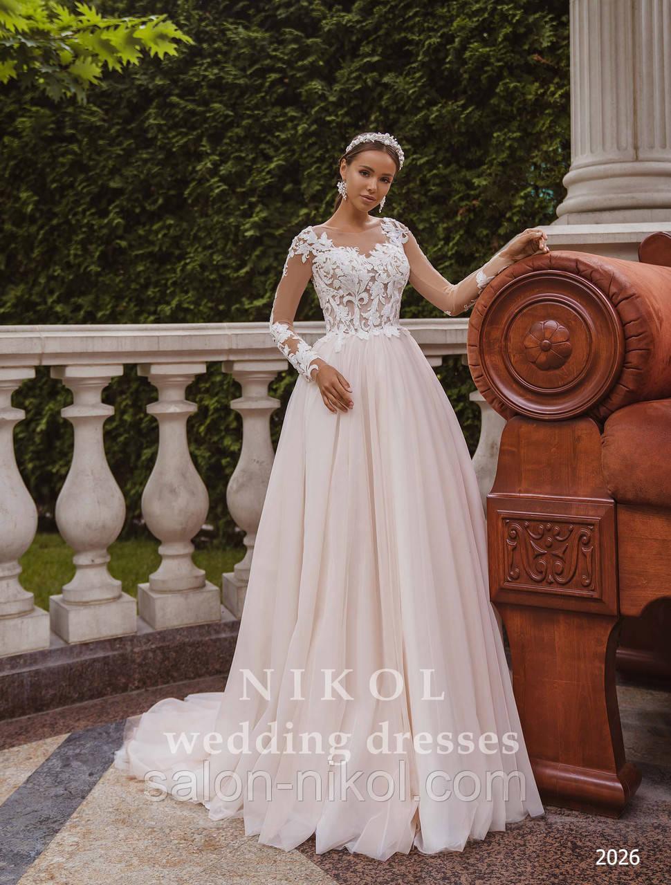 Свадебное платье № 2026