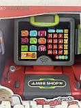 Детская электронная касса со сканером 35558 B, фото 3
