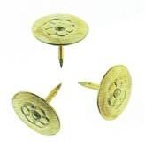 Кнопки металеві жовті ALCO