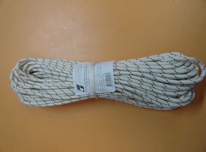 Шнур альпинистский, статический, полиамидный 10мм , 2400кг