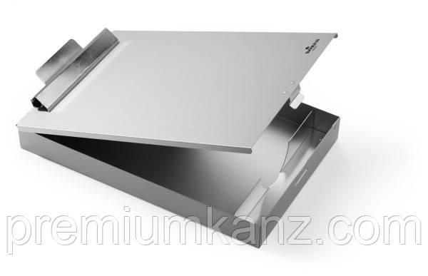 Кліпборд А4 з боксом з лакованого алюмінію
