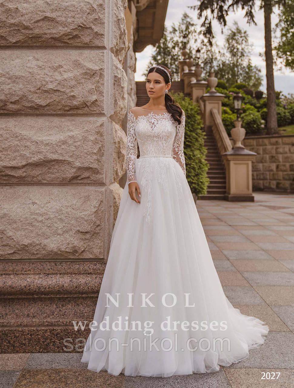 Свадебное платье № 2027