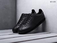 Кроссовки мужские Nike Cortez (черные)