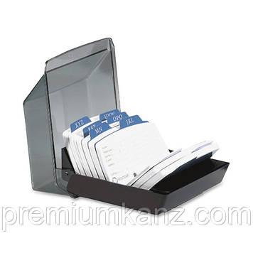 Закрытая  картотека Petite для 250 карт 57х102мм ROLODEX