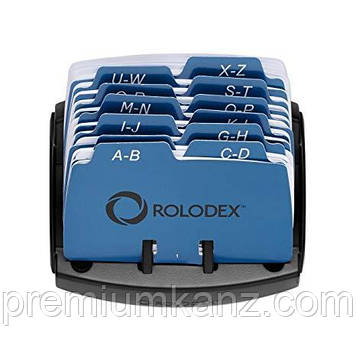 Відкрита картотека Petite для 125 карт ROLODEX