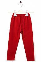 Лосины для ребёнка/девочка 95% хлопок, 5% лайкра Красный Bagci все размеры  1 год (80 см)