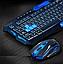 Беспроводная Клавиатура с Мышкой KEYBOARD HK-8100 в комплекте игровая блютуз, фото 2