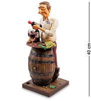 Статуэтка Guillermo Forchino Коллекционер вина 40 см 1905386