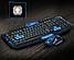 Беспроводная Клавиатура с Мышкой KEYBOARD HK-8100 в комплекте игровая блютуз, фото 4