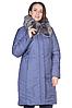 Куртка зимняя женская 567-195 (серо-голубой)