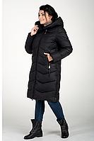 Куртка зимняя женская 18716-1 (чёрный), фото 1
