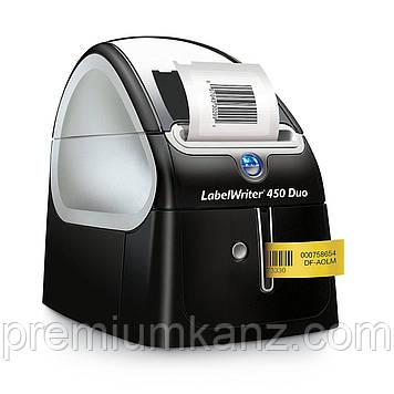 Професійний термопринтер LabelWriter® 450 Duo DYMO