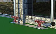 Фурнитура для откатных ворот Roll Grand 600 кг на полимерных роликах