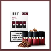 Вирджиния Табак / Virginia Tabaco 50 Мг. Картриджи Juul оригинал для электронной сигареты Джул (Juul Pods)