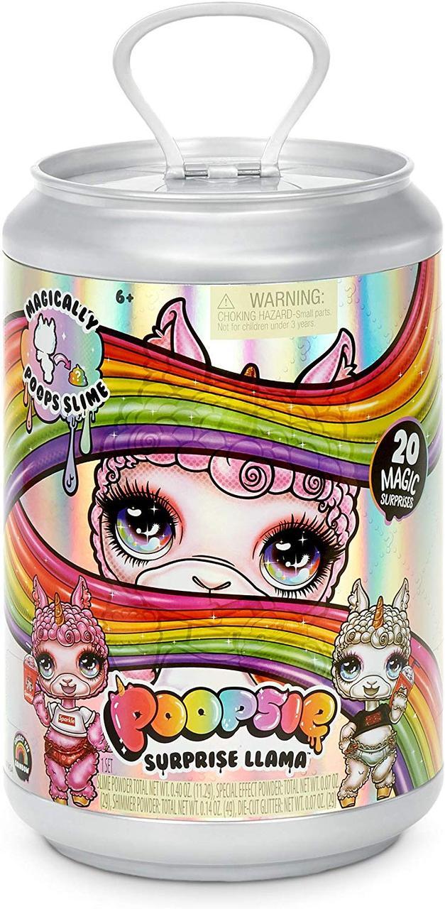 Пупси Слайм Единорог Лама с сюрпризами Оригинал Poopsie Slime Surprise Llama Bonnie Blanca Or Pearly Fluff